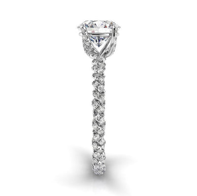 Danhov Eleganza Braided Engagement Ring