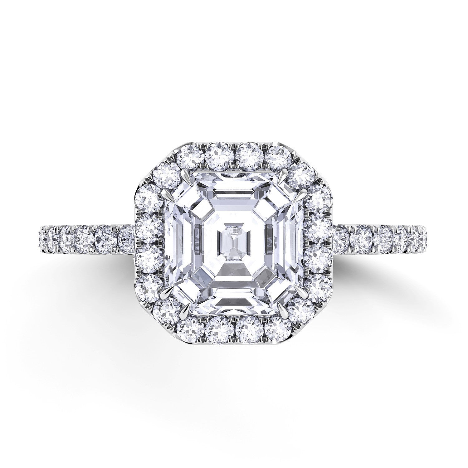 cut education rings diamonds explained diamond asscher guides