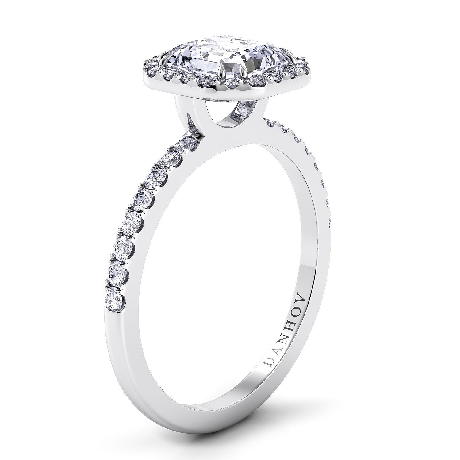 products ring gracelee stacker petite diamond com asscher