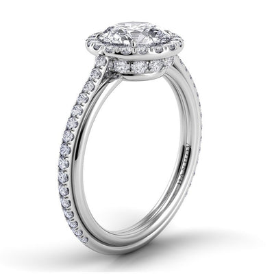 Danhov Unito Single Shank Engagement Ring