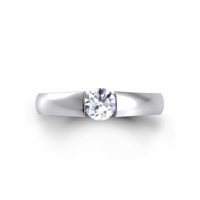 Danhov Floating Engagement Ring