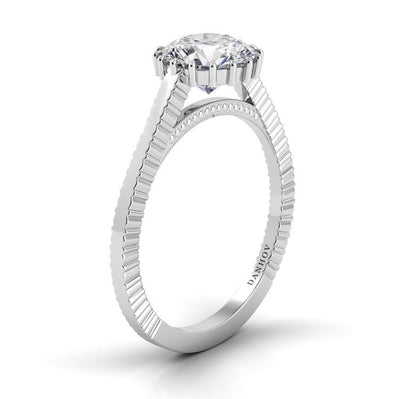 Danhov Carezza Diamond Engagement Ring with 16 Prongs