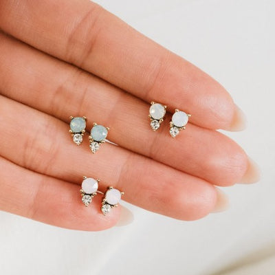 Dolce Double Stud Earrings