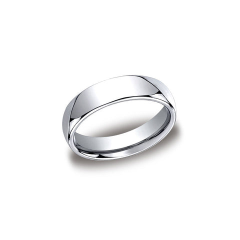 Traditional Cobalt Mens Wedding Band