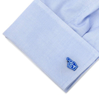 Foam Finger Cufflinks