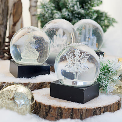 NYC White Keepsake Snow Globe