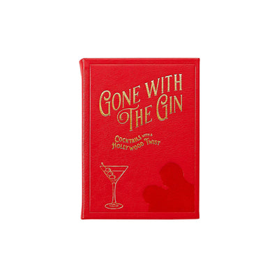 Gone with the Gin Leather Keepsake Bar Book