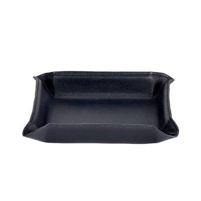 Leather Catchall Valet Tray