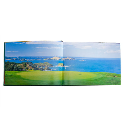 Golf Courses: Fairways of the World Leather Book