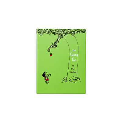 The Giving Tree Lime Bonded Leather Book