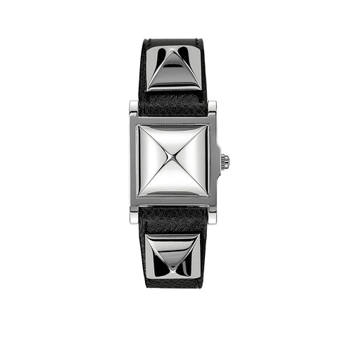 Hermes Medor PM Stainless Steel Spike Watch