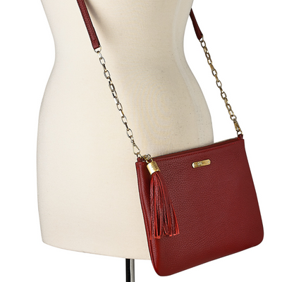 Chelsea Crossbody Bag in Luxe Napa Leather - Limited Edition