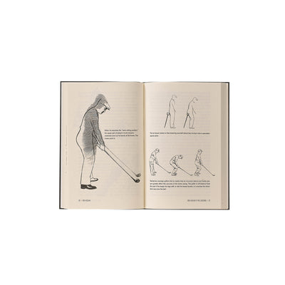 The Modern Fundamentals of Golf Leather Bound Book