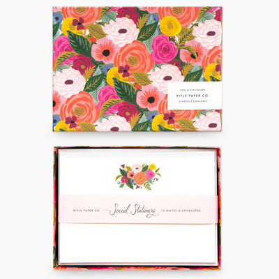 Juliet Rose Social Stationary Set
