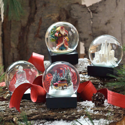 Luxury Holiday Snow Globes
