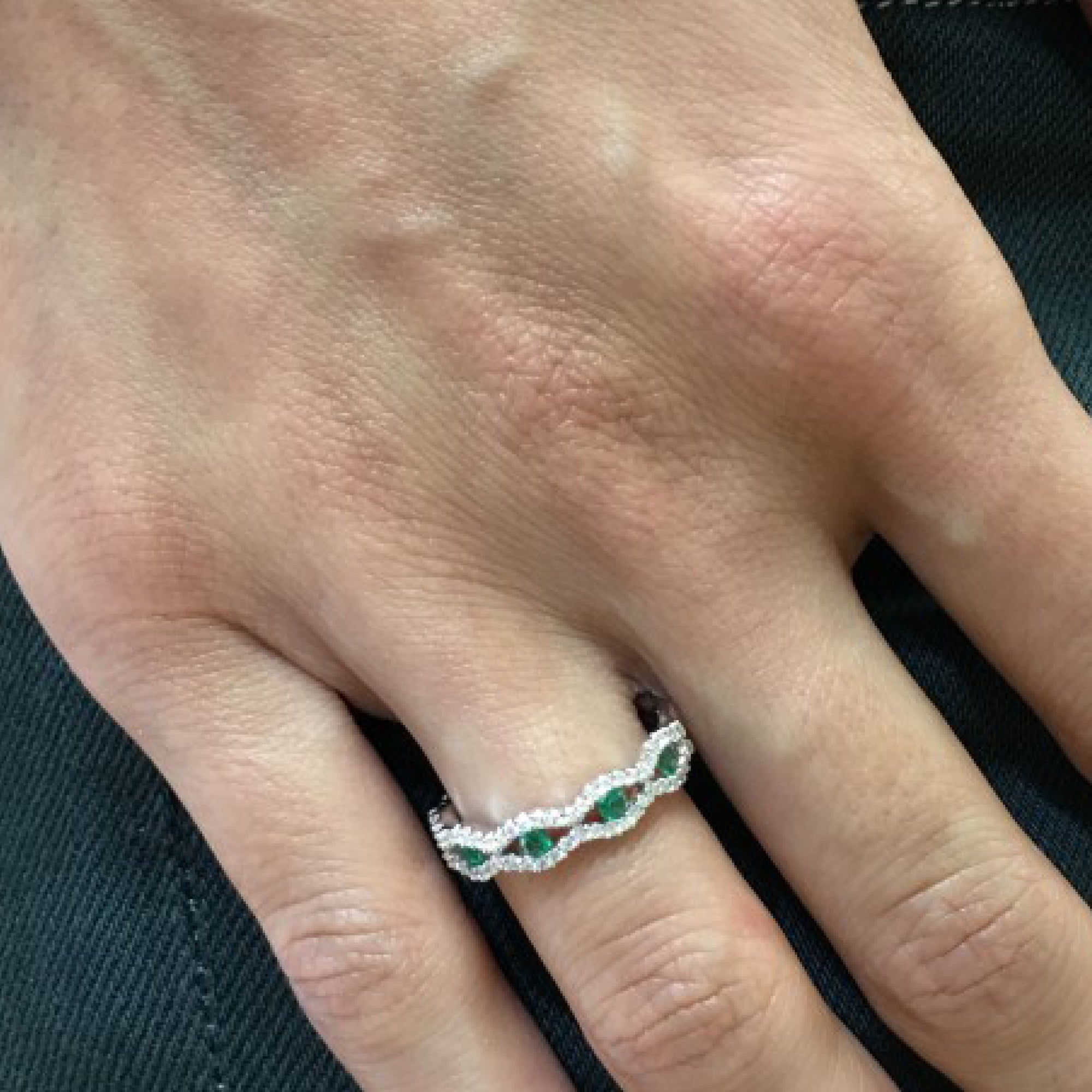 main bands band emerald for j cut sale master at diamond jewelry eternity rings id