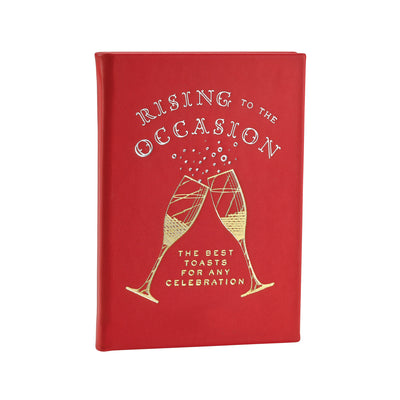 Rising to the Occasion Leather Keepsake Book