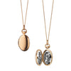 18k Petite Anna Locket Necklace