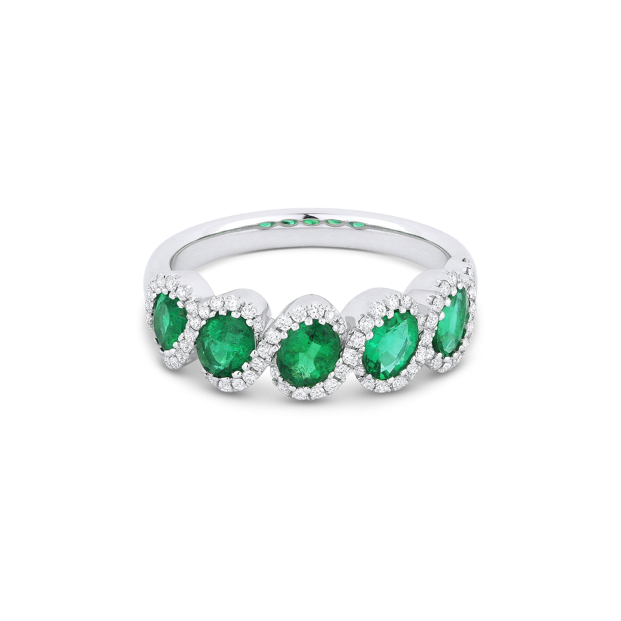 by diamond oval gold mikolay emerald white gemstone band green desires and products