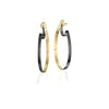 Rene Escobar Mina Yellow Gold Earrings