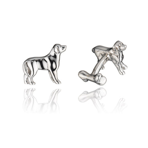 Rotenier Pet Rescue Sterling Cufflink to Benefit the SPCA of Westchester