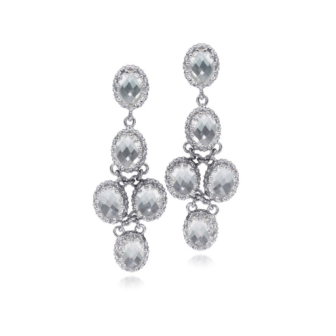Scott Mikolay Crown Collection Chandelier Earring