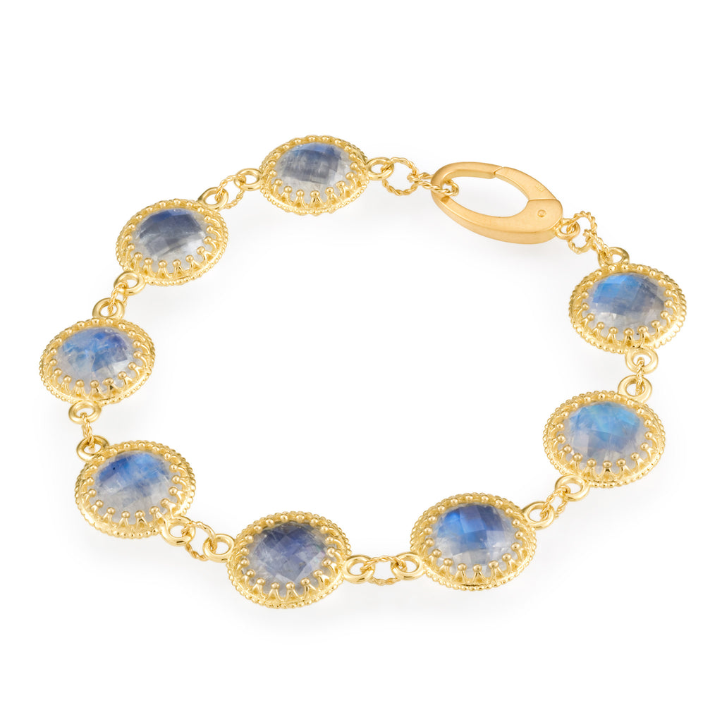 Scott Mikolay Crown Collection Bracelet Limited Edition Moonstone