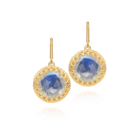 Scott Mikolay Crown Collection Earring Limited Edition Moonstone