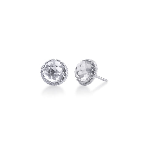 Scott Mikolay Crown Collection Stud Earring
