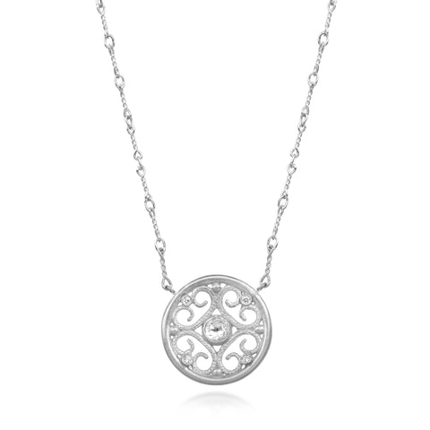 Diamond Necklace by Scott Mikolay in the Aragon Collection (Small)