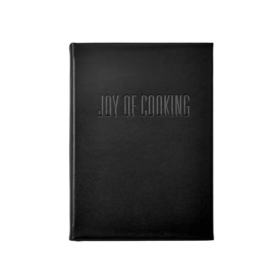 The Joy of Cooking Leather Bound Keepsake Book
