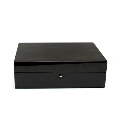 Black Jewelry Box in Wood