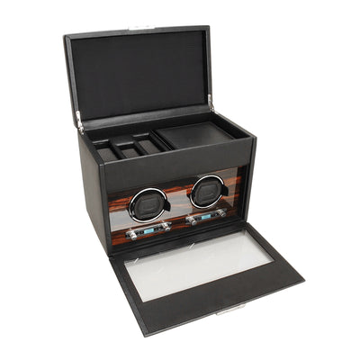 Luxury Double Watch Winder by Wolf Designs