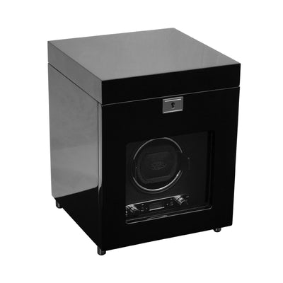 Savoy Wood Single Watch Winder with Storage
