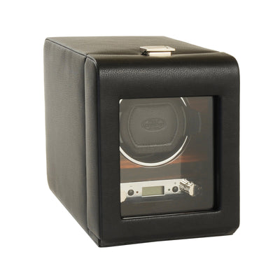 Roadster Single Watch Winder with Cover