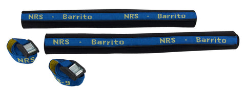 NRS Barrito Roof Rack Pads with Straps