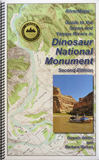 RiverMaps - Guide to the Green and Yampa Rivers in Dinosaur National Monument, Second Edition