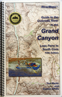 RiverMaps - Guide to the Colorado River in the Grand Canyon, Fifth Edition