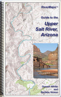 RiverMaps Upper Salt River Arizona Guide Book