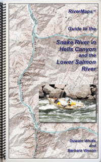 RiverMaps - Guide to the Snake River in Hells Canyon and the Lower Salmon River