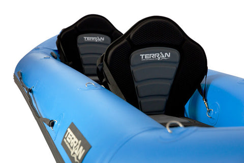Terran Tandem Self Bailing Inflatable Kayak