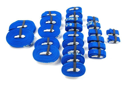 Rollercam - 6 Pack Blue/Yellow Cam Straps