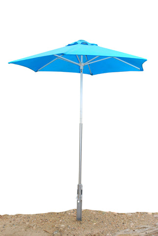 Down River Sand Stake Umbrella Holder Combo