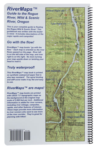 River Maps - Guide to the Rogue River Wild & Scenic River, Oregon