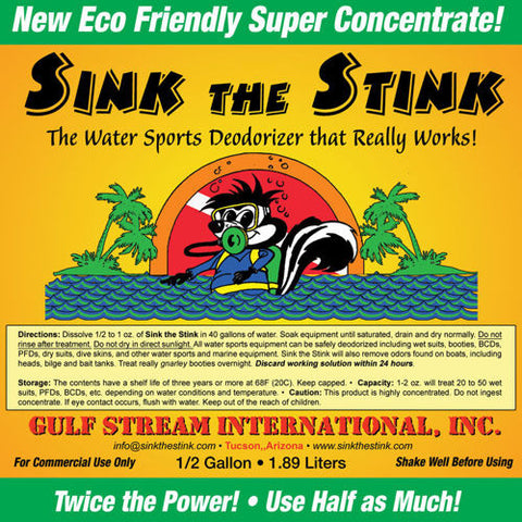 Sink The Stink Gear Deodorizer