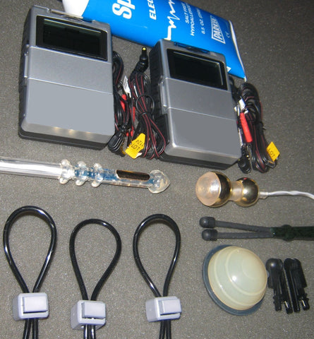 Deluxe Couple's E-Stim Kit