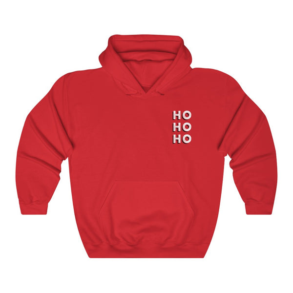 HO HO HO - by LCKY JACK (for Trixie & Milo) - Hoodie, Holiday, Funny, Christmas, Sweater, Gift, Secret Santa, Retro, Pin-Up