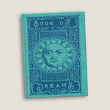 The BOOK OF DREAMS Journal - Blank pages by LCKY JACK, vintage style graphic, funny notebook, vintage style sketchbook, dream journal