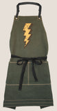 "Canvas Apron - ""Lightning"""
