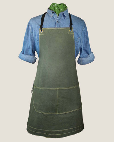 Canvas Apron - Olive